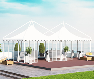 ELITE TENT GLASS 12x6