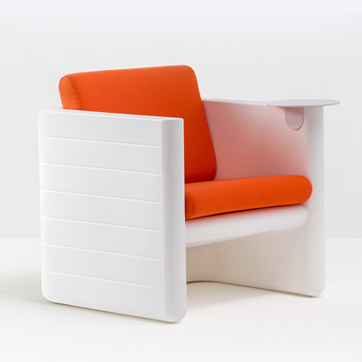 SUNSET CHAIR WHITE